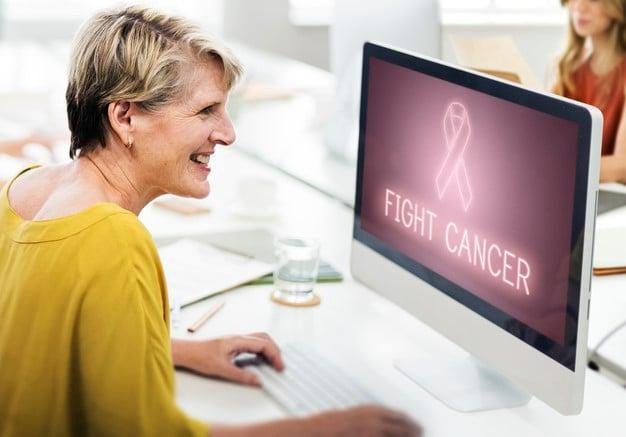 procurando ajuda - cancer de mama