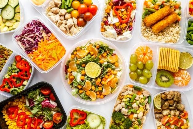 refeições alimentos saudáveis