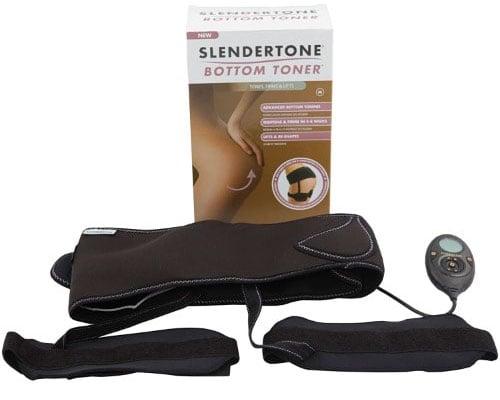 slendertone bottom toner tonificador muscular elétrico