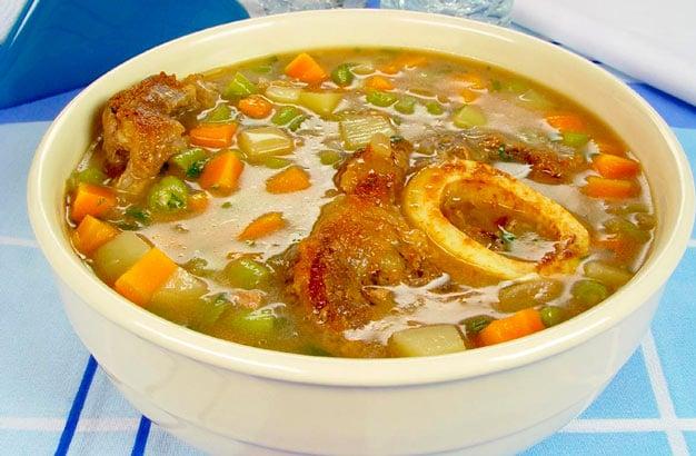 sopa de tutano