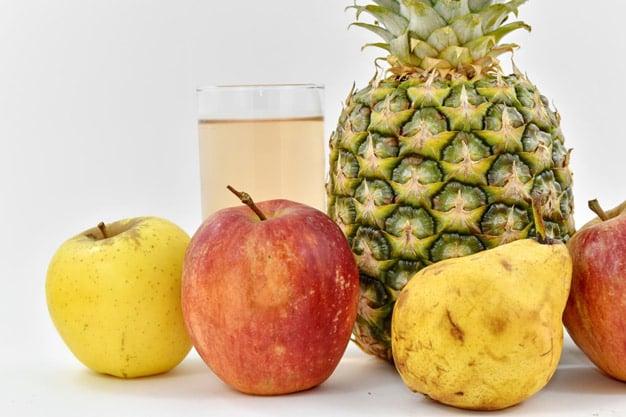 suco de maçã pera e abacaxi