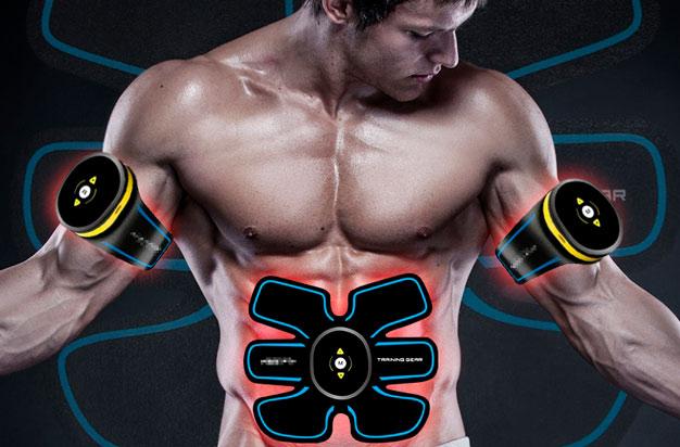 Tonificador muscular elétrico