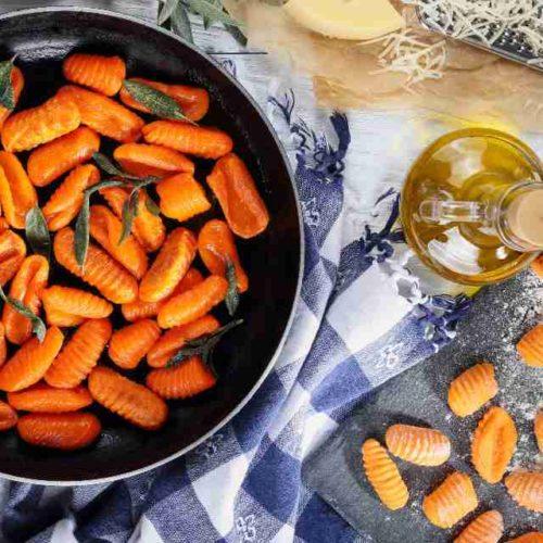 Nhoque de cenoura