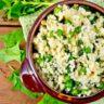 Receita de risoto de quinoa light: gostoso e saudável