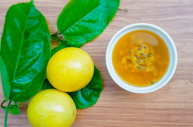 Chá de folha de maracujá