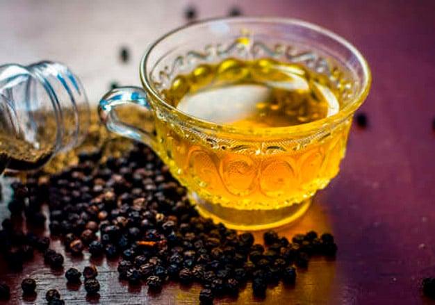 Chá de pimenta do reino