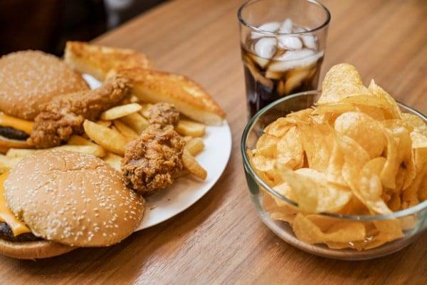 comida gordurosa