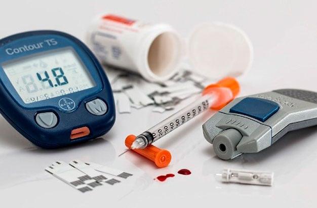 kit cuidados com a diabetes