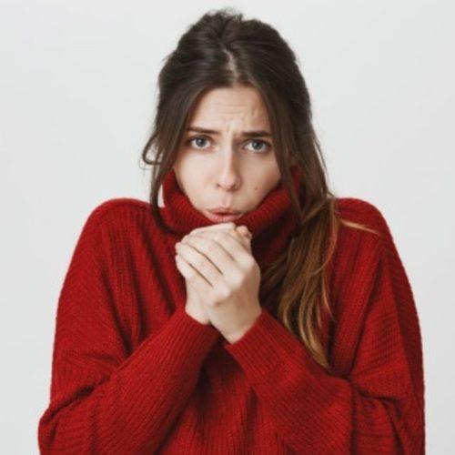 sintomas de hipotermia