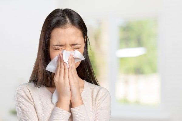 irritação no nariz