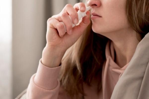 remédio no nariz