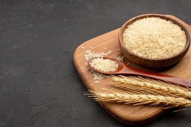 arroz cru