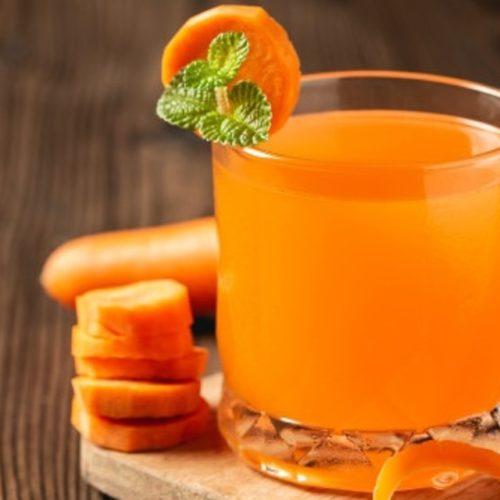 suco de cenoura para azia
